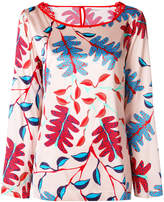 Marc Cain floral printed blouse