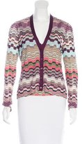 Missoni Patterned V-Neck Cardigan Set