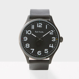 Paul Smith Men's Black 'Tempo' Watch