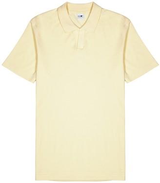 NN07 Paul light yellow cotton-blend polo shirt