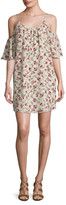 French Connection Polly Plains Floral Print Shift Dress
