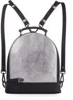 Martella Bags Metallic Leather Backpack