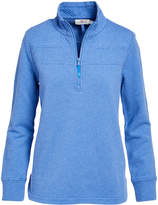 Vineyard Vines Women's Pullover Sweaters 0996 - Hull Blue Quilted Shep Shirt Pullover - Women