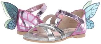Sophia Webster Chiara Sandal (Infant/Toddler/Little Kid/Big Kid) (Silver/Multi Metallic) Women's Sandals