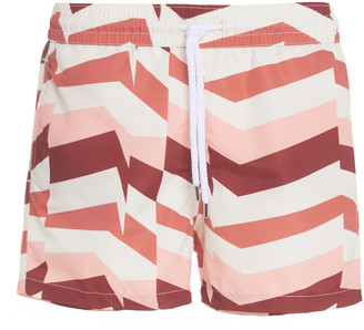 Frescobol Carioca Printed Sport Swim Shorts