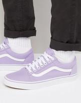 Vans Old Skool Trainers In Purple Va38g1mmd