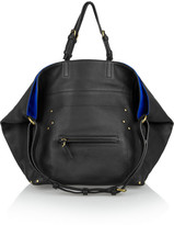 Jerome Dreyfuss Jacques textured-leather and nubuck tote