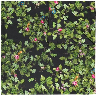 Preen by Thornton Bregazzi floral embroidered scarf
