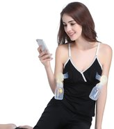 eronde Hands-Free Breastpump Bra Bustier Easy Expression Camisole Soft Cotton