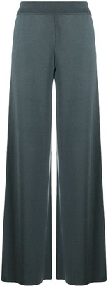 Maison Ullens Knitted Wide-Leg Trousers