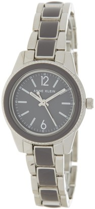 Anne Klein Women's Enamel Bracelet Watch, 30mm