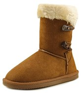Lamo Fluffy Too Round Toe Synthetic Mid Calf Boot.