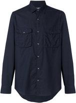 Salvatore Ferragamo patch pocket shirt - men - Cotton - XS