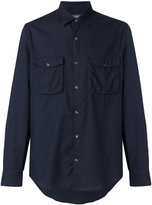 Salvatore Ferragamo patch pocket shirt
