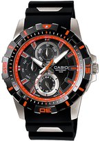Casio Men's Core MTD1071-1A2V Resin Quartz Watch with Dial