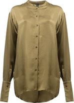 Ilaria Nistri collarless shirt