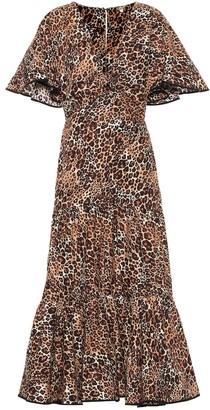 Johanna Ortiz Animal Jewel cotton and silk dress