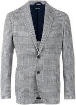 Giorgio Armani plaid blazer - men - Cotton/Acrylic/Polyamide/Virgin Wool - 50