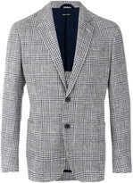 Giorgio Armani plaid blazer - men - Cotton/Virgin Wool/Acrylic/Acetate - 50