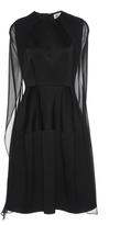 Dice Kayek Mini Cape Dress