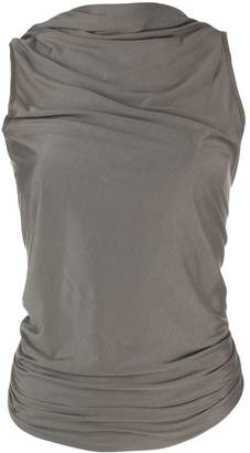 Rick Owens Lilies open back knitted top