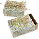 "Kate Aspen Around the World"" Map Favor Box, Set of 24"