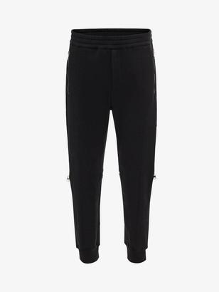 Alexander McQueen Zipper Detail Sweatpants