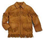 Ralph Lauren Toddler's & Little Boy's Jacksonville Leather Jacket