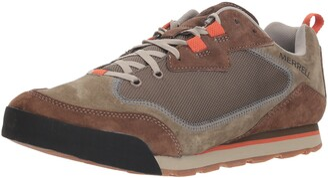 Merrell Men's Burnt Rock Travel Suede Hiking Shoe