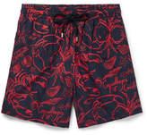 Vilebrequin Moorea Long-length Printed Swim Shorts - Blue