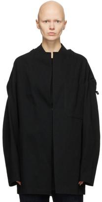 Y's Ys Black U-Drop Jacket