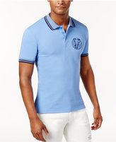 Versace Men's Contrast-Trim Polo