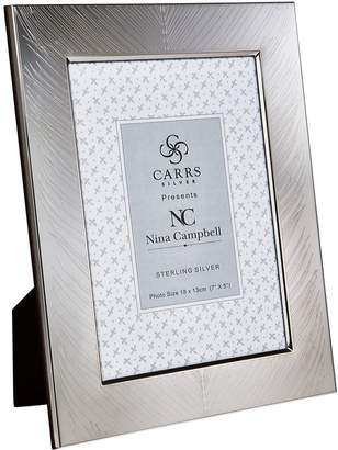 """Carrs of Sheffield Silver Sterling Silver Fern Photo Frame (6""""x4"""")"""