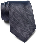 Calvin Klein Subtle Plaid Silk Tie