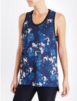 The Upside Cherry blossom lamarcus mesh top