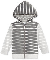 First Impressions Baby Boys' Striped Zip-Up Hoodie, Only at Macy's