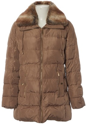 Michael Kors Brown Polyester Coats