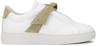 Alexandre Birman Clarita lurex bow sneakers