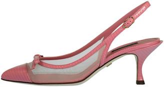 Dolce & Gabbana Rosa Lori Slingback