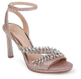 Badgley Mischka Kaira Crystal Embellished Ankle Strap Sandal