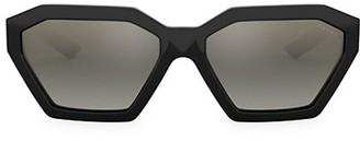 Prada 57MM Irregular Sunglasses