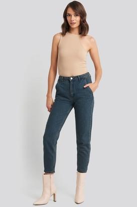 Trendyol Chino Pocket High Waist Mom Jeans