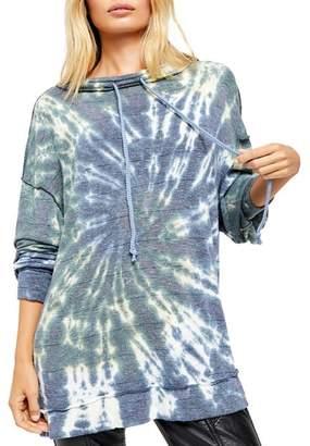 Free People Best Catch Tie-Dye Sweatshirt