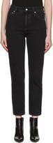 Balenciaga Black Genuine Jeans