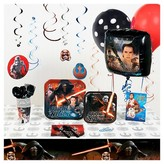 BuySeasons Star Wars 7 The Force Awakens Super Deluxe Party Pack