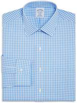 Brooks Brothers Gingham Check Regular Fit Dress Shirt