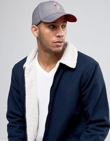 Diesel Ciper Baseball Cap In Grey
