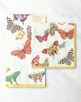 Mackenzie Childs MacKenzie-Childs Butterfly Garden Cocktail Napkins