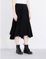 Y's YS Ruched woven skirt