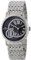 Marvin Women's M025.12.74.12 Origin Black Dial Stainless Steel Bracelet Watch